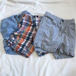 bundle of 3 pairs of GAP shorts
